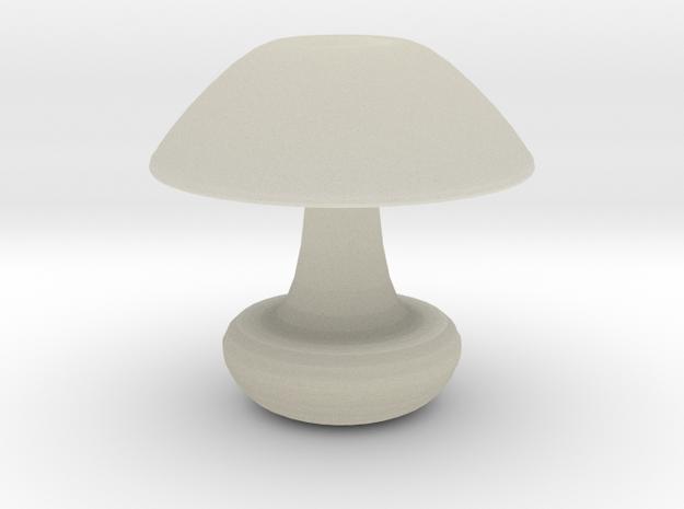 Mushroom Vase in Transparent Acrylic