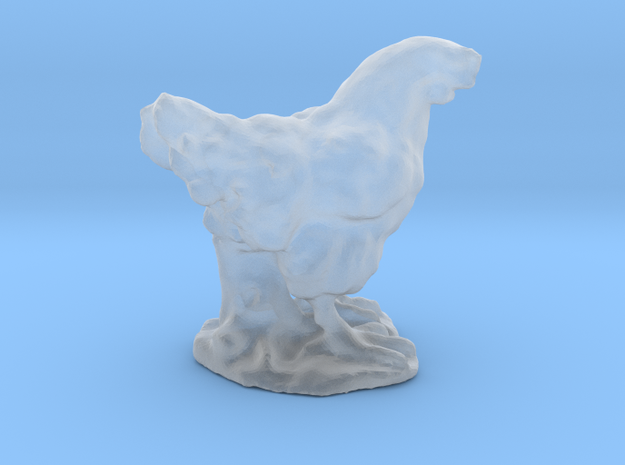 Chicken Miniature 3d printed