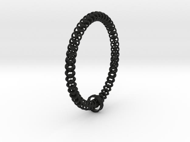 Cubichain Bracelet (XXL) T8mm - L240mm 3d printed