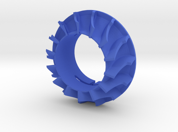 RC turbo Blower Turbine de refroidissement in Blue Processed Versatile Plastic