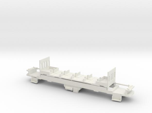 Fahrgestell Vierachser Flensburg in White Natural Versatile Plastic