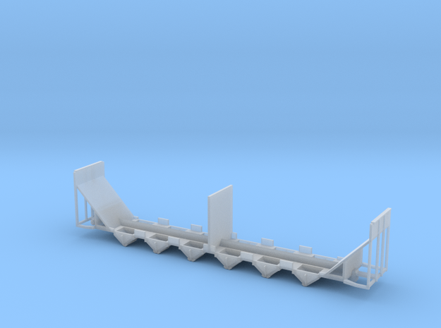 Woodchip Hopper Frame N Scale 3d printed