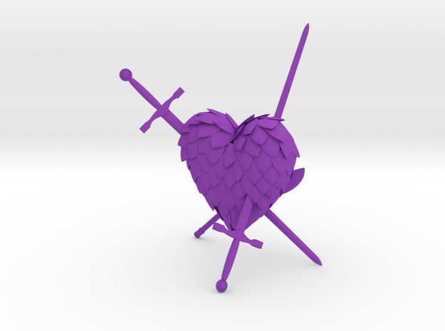 Resilient in Purple Processed Versatile Plastic
