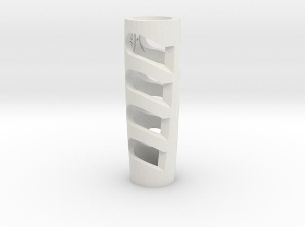 Vibe HPR Cover B in White Natural Versatile Plastic