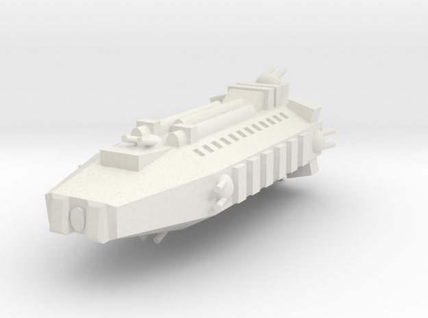 Earther Marine Assault Shuttle in White Natural Versatile Plastic