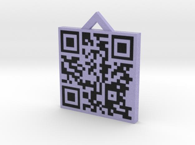 QRCode -- http://www.archipelis.com 3d printed