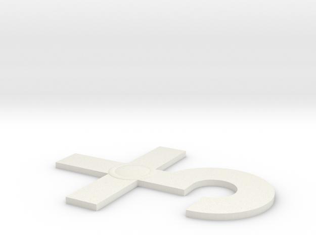 Blue Oyster Cult logo v1 3d printed