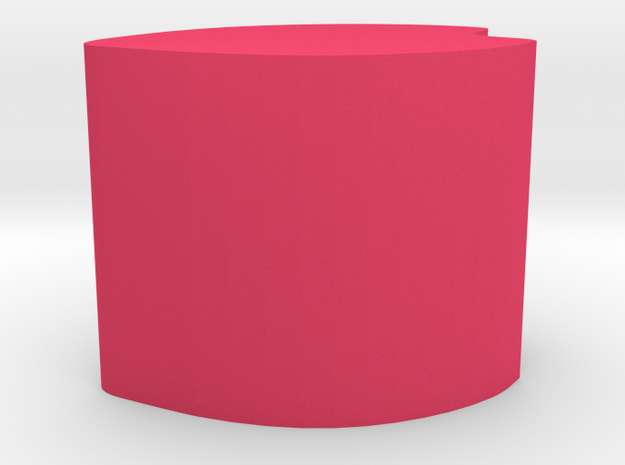 Obesepetal in Pink Processed Versatile Plastic