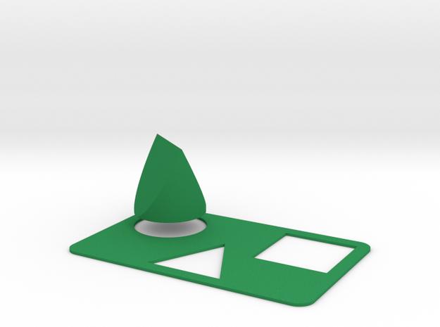 Tri-Shape Puzzle 3d printed