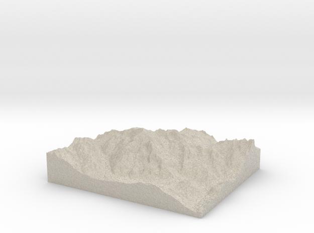 Model of Peindein 3d printed
