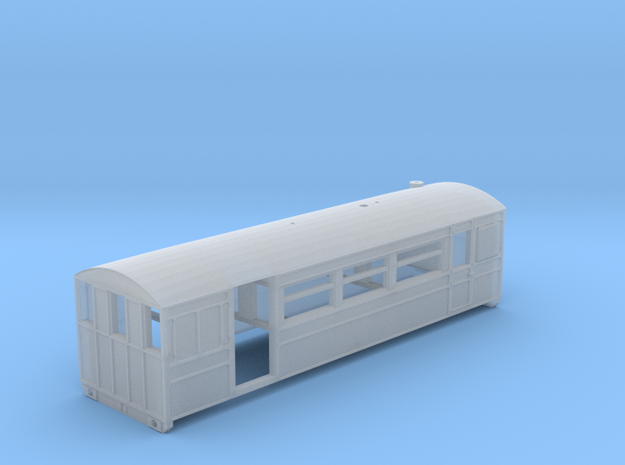 K&ESR Pickering Steam Railcar (N scale) 3d printed