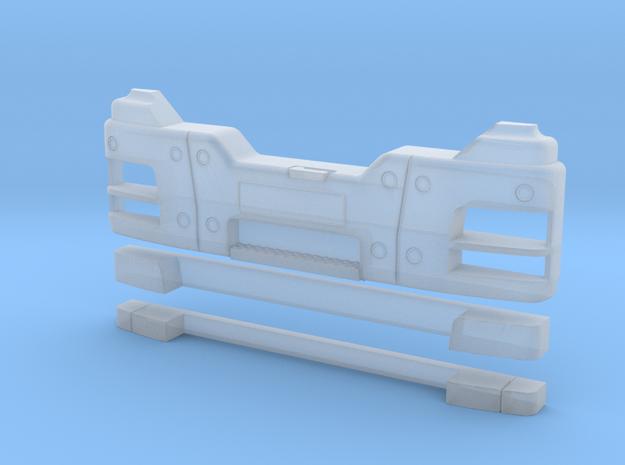 Stoßstange Bau Allrad in Smooth Fine Detail Plastic