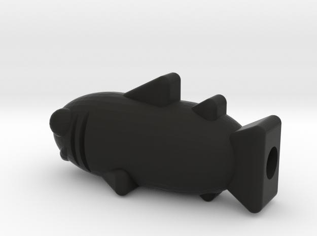 Sharky 3d printed
