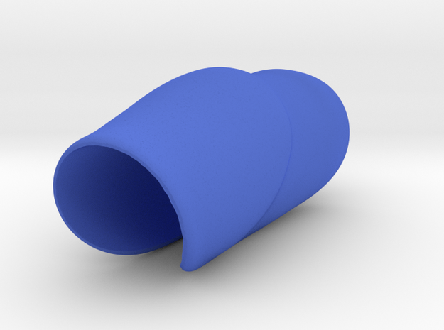 SaddleGrip 22mm in Blue Strong & Flexible Polished