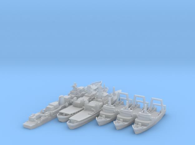 1/1250 Cod Wars Set 2+ 3d printed