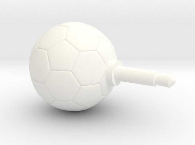 Soccer Ball Phone jack accessories 3d printed