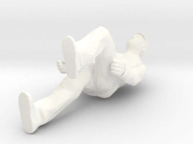 H0 Man on stairs 3d printed