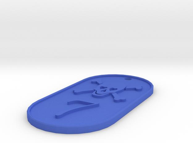 CISKY DOGTAG 3d printed