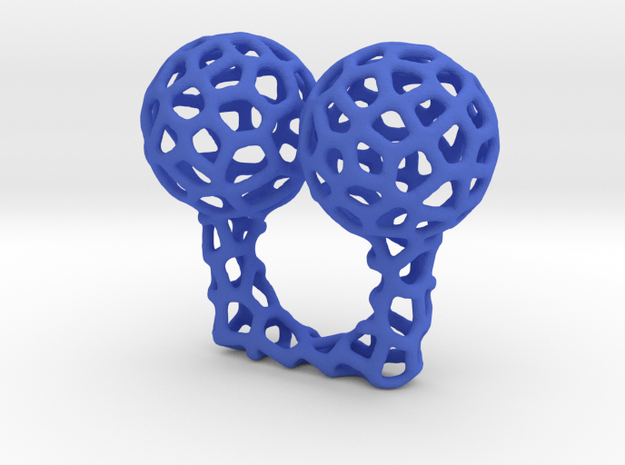 Vorronoi Ring 3d printed
