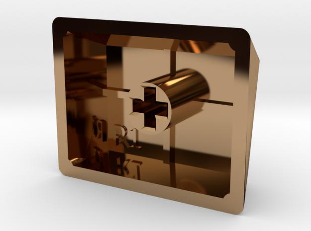 Crunchbang Keycap (R1, 1.25x) 3d printed