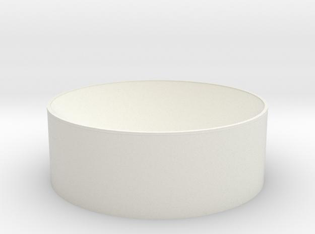 Ceramictest in White Natural Versatile Plastic