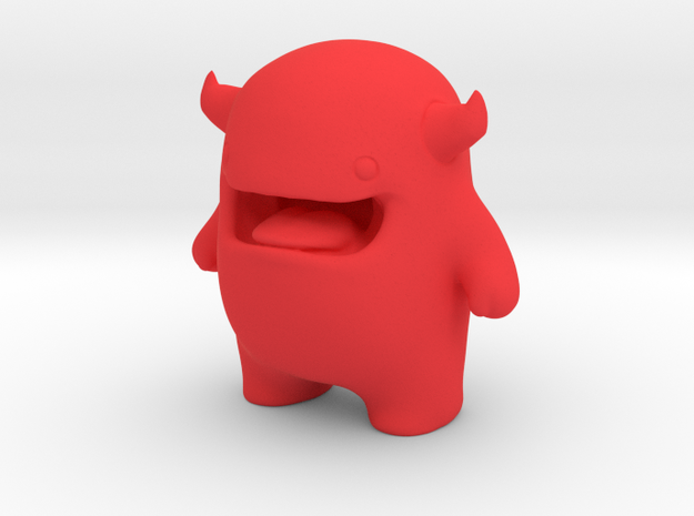 Alf Mascot Character in Red Strong & Flexible Polished