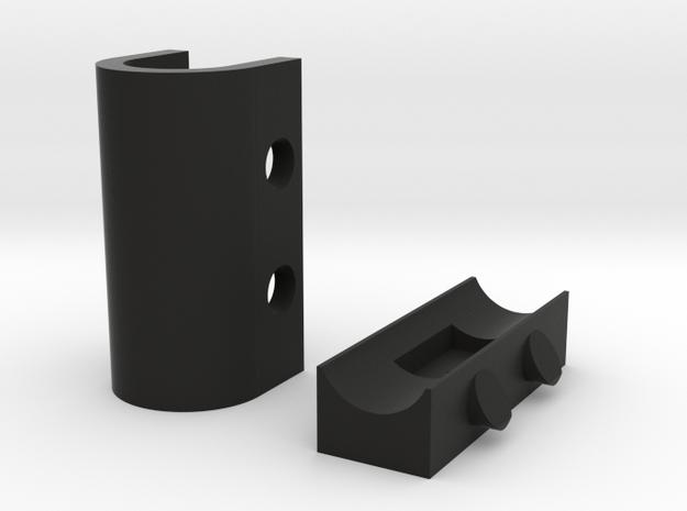 Coaxial Wall Clip 3d printed