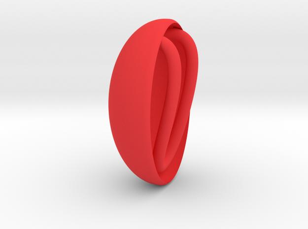 Princess Tutu - Ahiru's Broach in Red Processed Versatile Plastic