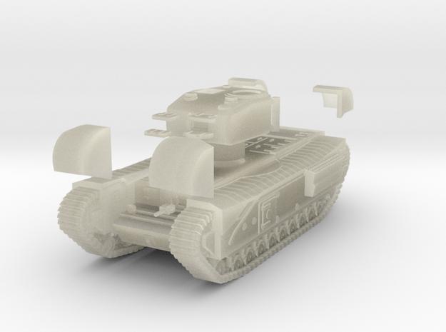 Tank- Churchill Mk IV (1/87th) 3d printed