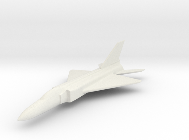 1/200 Scale Shenyang J-8  in White Strong & Flexible