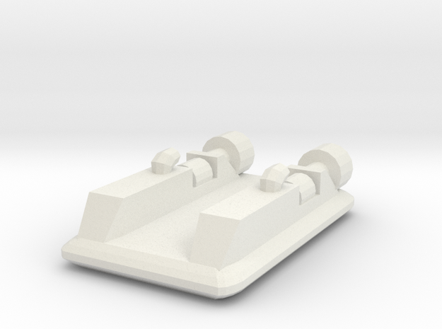 Hovercraft 1:1200 3d printed