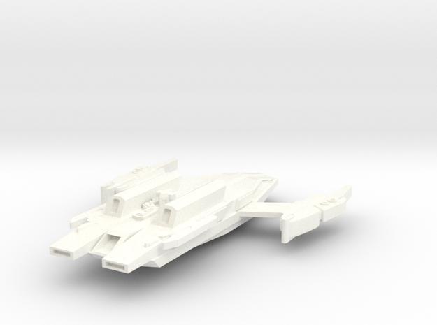 Jem'Hadar Long Dagger Heavy Carrier in White Processed Versatile Plastic
