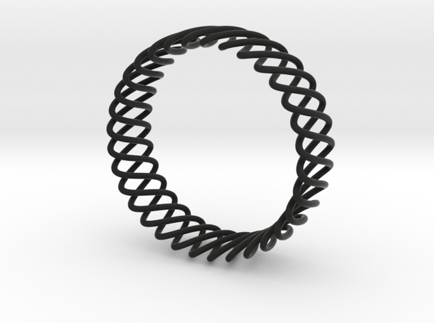 Spring Bracelet 3d printed