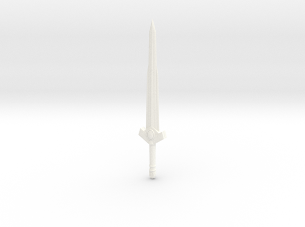 Sword of the first born in White Processed Versatile Plastic