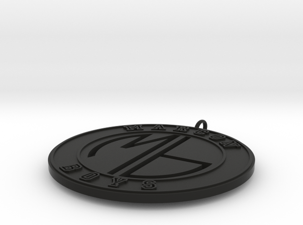 Marcon Boys Pendant 3d printed