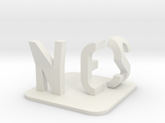 Yes or No, depends on angle (BIG) 3d printed