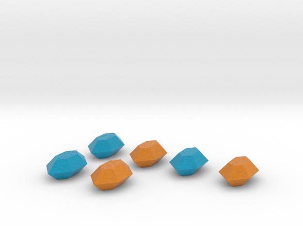Zelda Fan Art: TLoZ: Set Of 6 Rupees in Full Color Sandstone