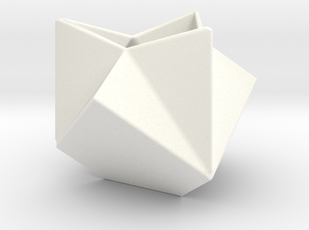 Ruba Rombic Cube Planter 3d printed