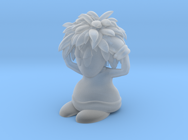 Lemming Exploder (Small and White) 3d printed