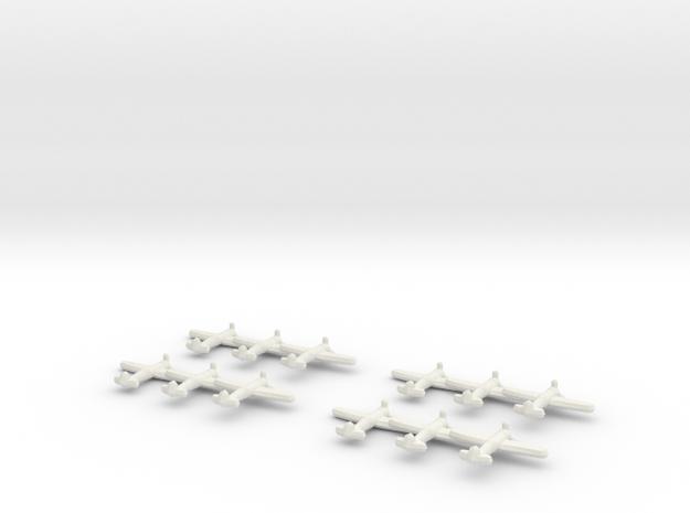 IAR.80/81C (Triplet) x4 1:900 3d printed