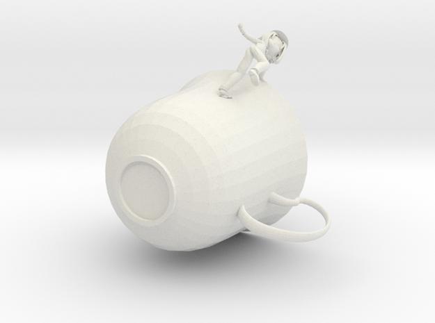 TheTeacup in White Natural Versatile Plastic