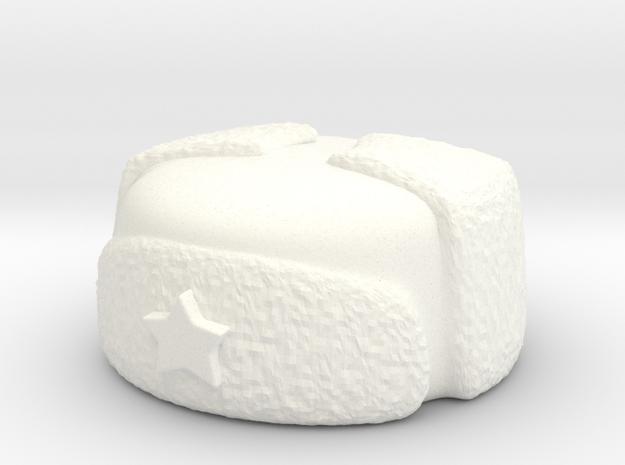 Russian-winter-1010-1s in White Processed Versatile Plastic