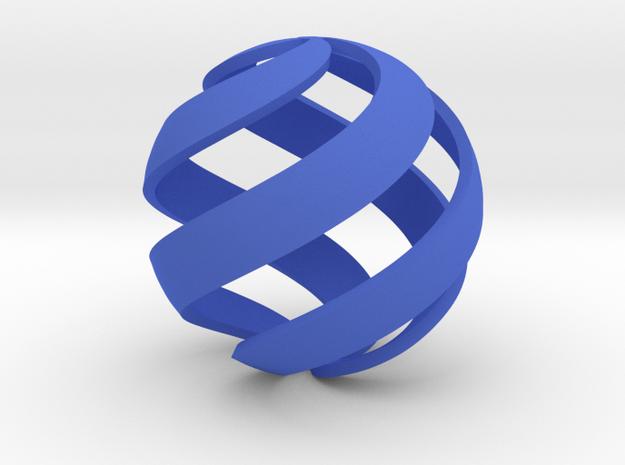 M. C. Escher Spiral Sphere 3d printed