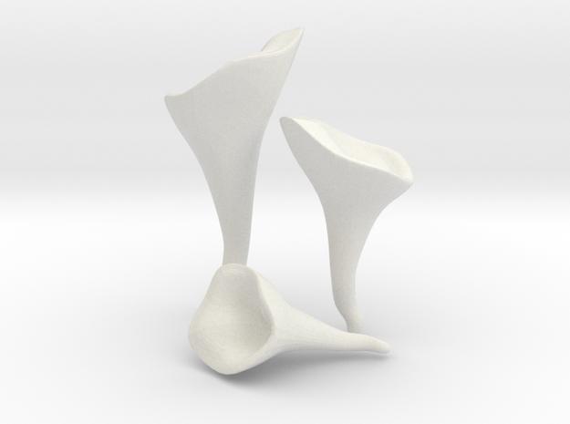 Chanterelle in White Natural Versatile Plastic