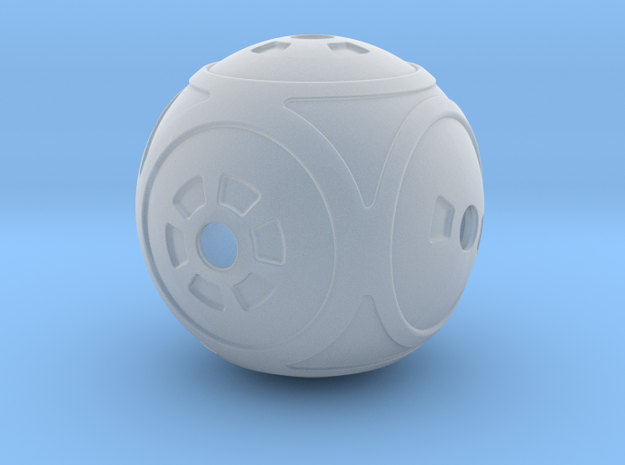 Spherical Dice 3d printed