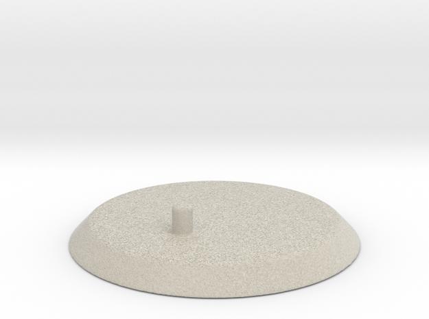 """Mora 7"""" Base in Natural Sandstone"""