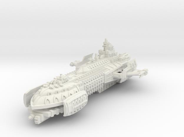 BFG Heresy Barge in White Natural Versatile Plastic