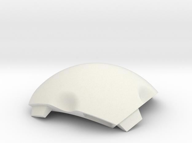 NSphere Mini (tile type:4) in White Natural Versatile Plastic