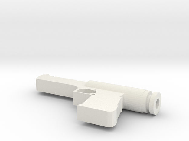 Gun Drip Tip in White Natural Versatile Plastic