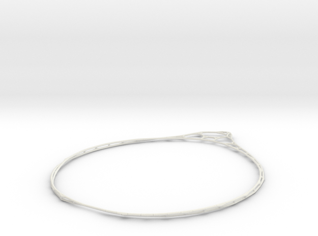 Minimalist Bracelet  in White Strong & Flexible
